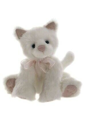 SPECIAL OFFER! 2017 Charlie Bears SNOWDROP Cat Winter Collection (RRP £38) • 24.99£