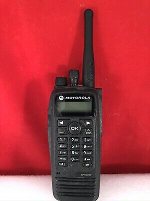 $109.95 • Buy Motorola XPR 6550 XPR6550 UHF 403-470 MHz Mototrbo DMR Digital Two-Way Radio