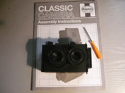 Working Toy Photo Kit Twin Lens Camera 35mm Film Classic By Haynes Diy Hobby • 7£
