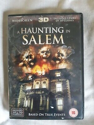 A Haunting In Salem DVD (2012) Bill Oberst Jr., Van Dyke (DIR) Cert 15 • 0.50£