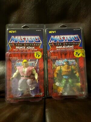 $49.99 • Buy Masters Of The Universe - Super 7 Vintage Prince Adam, And Man At Arms