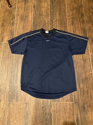 $ CDN26.35 • Buy Vintage Nike T-Shirt Size Medium Middle Blue