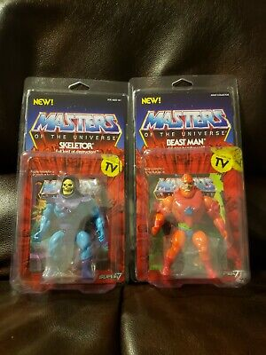 $49.99 • Buy Masters Of The Universe - Super 7 Vintage Skeletor, And Beast Man