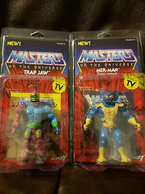 $59.99 • Buy Masters Of The Universe - Super 7 Vintage Trap-Jaw, And Merman