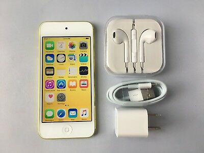 £100.93 • Buy Apple IPod Touch 5th Generation Yellow (64GB) Mint