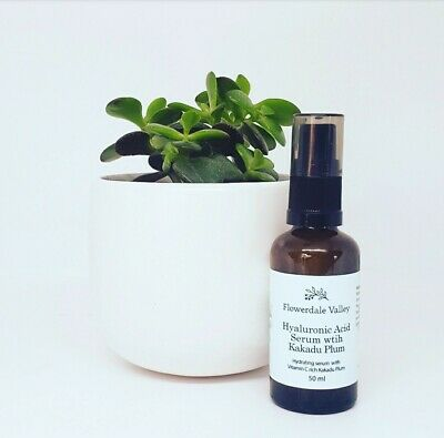 AU29.99 • Buy Pure Hyaluronic Acid Serum Moisturizing  Kakadu Plum  Vitamin C Australian Made