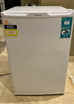 AU180 • Buy Hisense HR6BF121S 120 Litre Bar Fridge Refrigerator White - Excellent Condition
