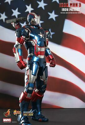 AU469.99 • Buy HOT TOYS Iron Man 3 IRON PATRIOT Brand New & Sealed In Brown Shipper FREE POST