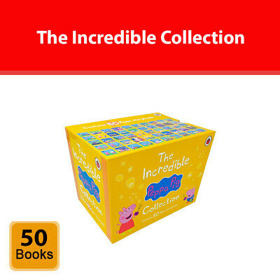 £27.99 • Buy Peppa Pig The Incredible Collection 50 Books Box Set (50 Storybooks Series 2)