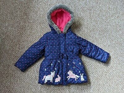 Blue Zoo Girls Coat 4-5 • 5£