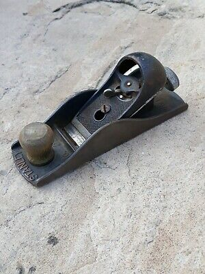Vintage Stanley No. 220 Woodworking Plane Carpentry Tool Block Made In England • 29.99£