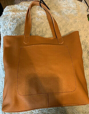 Bnwt Real Leather Tan Shopping Bag Next Rrp £48 • 25£