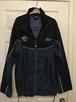 Leeds Rhinos Asics Windbreaker Showerproof Jacket XL • 14.99£