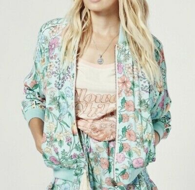 AU301.50 • Buy Spell And The Gypsy Collective Sayulita Bomber Jacket - Birthstone S