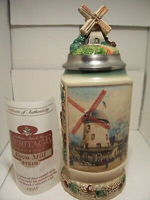 $ CDN53.27 • Buy Anheuser Busch's Lidded Stein Heritage Series Bevo Mill CB9 Limited Edition