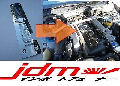 AU162.20 • Buy Toyota JZX100 Engine Cover 1JZ-GTE VVT-i JDM Mirror Stainless Steel Mark Chaser