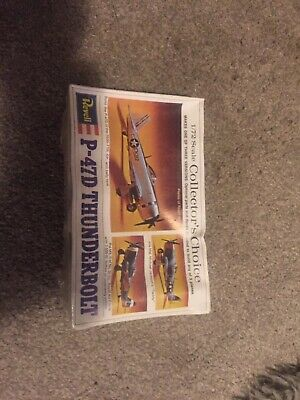 VINTAGE REVELL 1/72 ~P-47D THUNDERBOLT ~ Collectors Edition • 6£