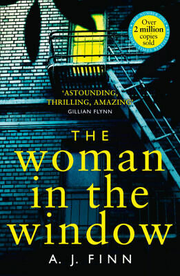 AU12 • Buy The Woman In The Window By Finn A. J. New Paperback - Made Into A Hit Movie