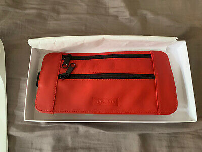 $ CDN226.93 • Buy Supreme  SS19 Leather Red Waist/Shoulder Pouch  Bag