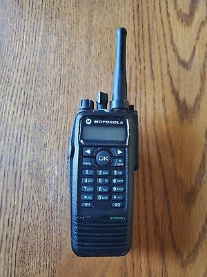 $195 • Buy Motorola XPR 6550 NEW CASE  UHF 450-512 MHz Mototrbo DMR Digital Two-Way Radio