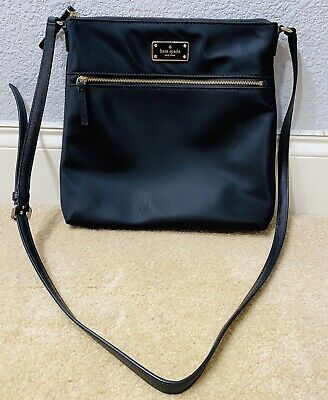 $ CDN16.76 • Buy Kate Spade New York Black Nylon Crossbody Long Adjustable Strap