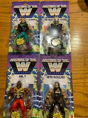 $95.58 • Buy Masters Of The WWE Universe Walmart Exclusive Set Series 4 Seth Bray Jake Mr. T