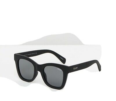 AU51 • Buy QUAY Affer Hours Black Sunglasses RRP: $65 BRAND NEW