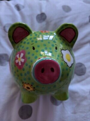 M&S Limited Edition Percy Big Money Bank 2006 • 3£