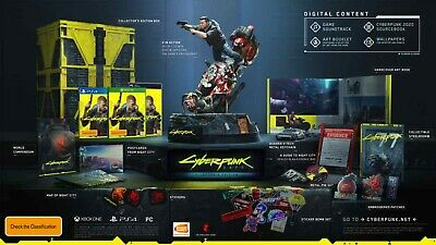 AU675 • Buy CyberPunk 2077 Collectors Edition PS4 Brand New Pre-Order