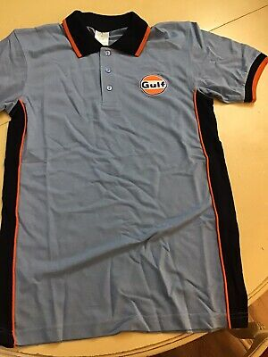 Gulf Polo Shirt Size Small  X 2 • 7£