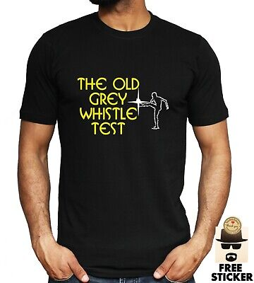 £8.99 • Buy THE OLD GREY WHISTLE TEST T-shirt Retro 70's 80's Tv Music Tee Unisex S - 4XL