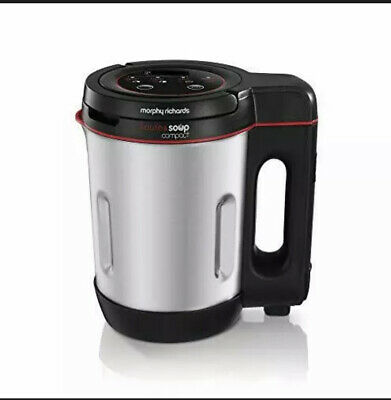 Morphy Richards 501027 Compact Saute & Soup Maker, Stainless Steel, 900 W, 1 • 32.99£