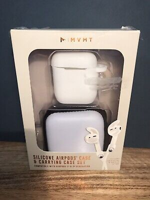$ CDN11.95 • Buy BNIB - MVMT Silicone AIRPODS Case & Carry Case Set Inc Neck Strap & Earbud Wings