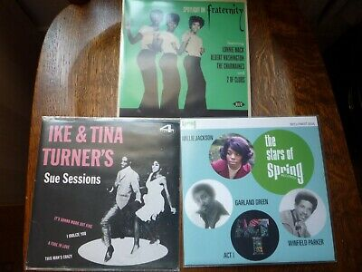 Northern Soul / Soul Lot X 3 Classic Sounds EX / NM E.P's Spring Ike Tina Frat • 15£