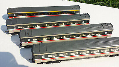 Hornby HST 125 MK 3 Coaches X4, First Class X1, TSO X3, 00 Gauge, Unboxed • 25£