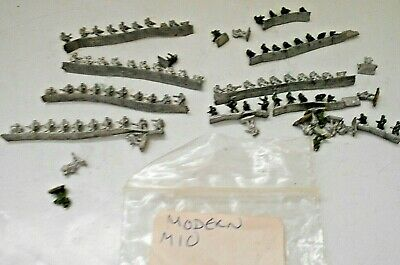 6mm. Modern Army Infantry Marked As M10. Joblot. Metal. Approx 90 Figures • 3.99£