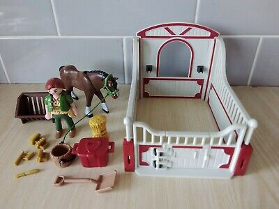 Playmobil 5108 Shire Horse Stable. Complete  • 3£