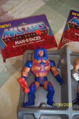 $51 • Buy Lot Of Masters Of The Universe Vintage With Backing Cards