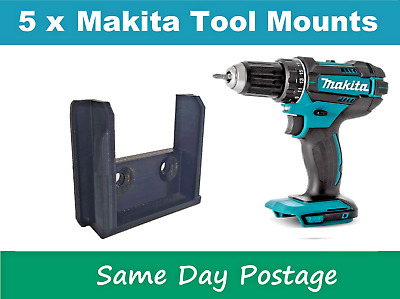 AU12.99 • Buy 5 X Makita Tool Skin Holder Mount 18v