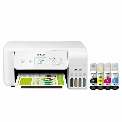 View Details 💥NEW Epson ECOTANK ET-2720 Wireless All-In-One Supertank Color Printer- White💥 • 263.99$