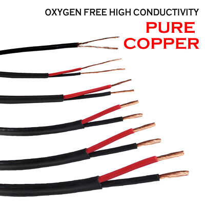 AU19.99 • Buy Cable Twin Sheath Wire 2 Core Cables Gauge 1.0mm 2.5mm 6mm 10mm 13mm Auto Solar