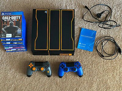 AU300 • Buy PS4 1TB Limited Edition Call Of Duty Console + 2 Controllers + 6 Games