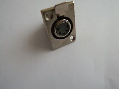5 PIN Female XLR Chassis Connector Socket D Type - Solder Type • 7.67£