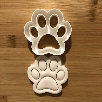 £4.25 • Buy Paw Print 🐾 Shape Cookie Cutter Pastry, Fondant.