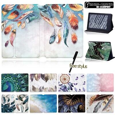 For Kindle Paperwhite 5th 6th 7th 10th /Kindle 10th Gen Leather Case Stand Cover • 8.98£