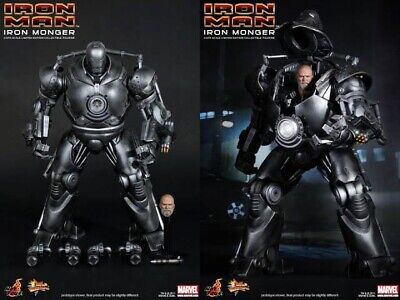 AU780 • Buy Brand New Hot Toys MMS 164 IRON MONGER 1/6 Action Figure Ironman 1