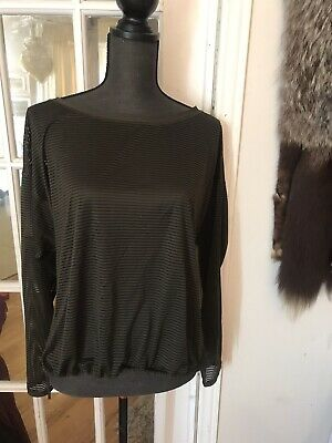 $ CDN52 • Buy Lululemon Lean In  Size 10 Long  Sleeve Top Green