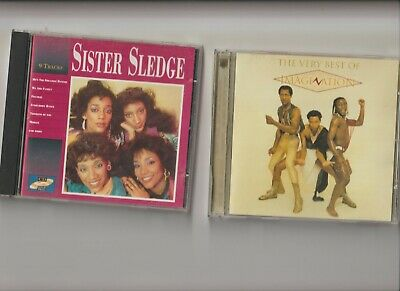 Sister Sledge : Sister Sledge + Imagination : The Very Best Of  / TWO CD Albums • 3.79£