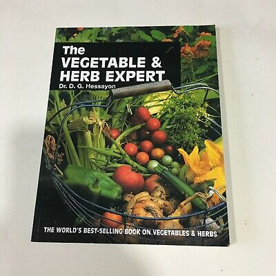 The Vegetable And Herb Expert: The World's Best-selling Book On Vegetables &... • 5.50£