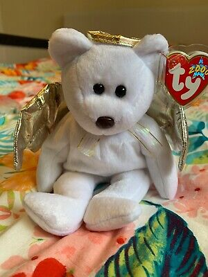 TY Beanie Babies Halo 2 (||) Bear WITH TAG • 4£